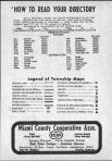 Index and Legend, Miami County 1972